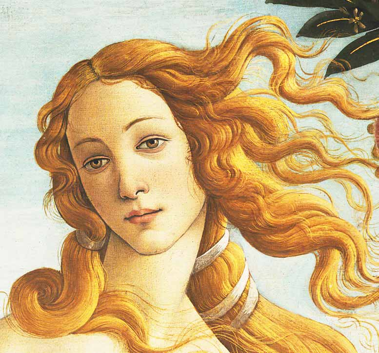 botticelli-birth of Venus detail